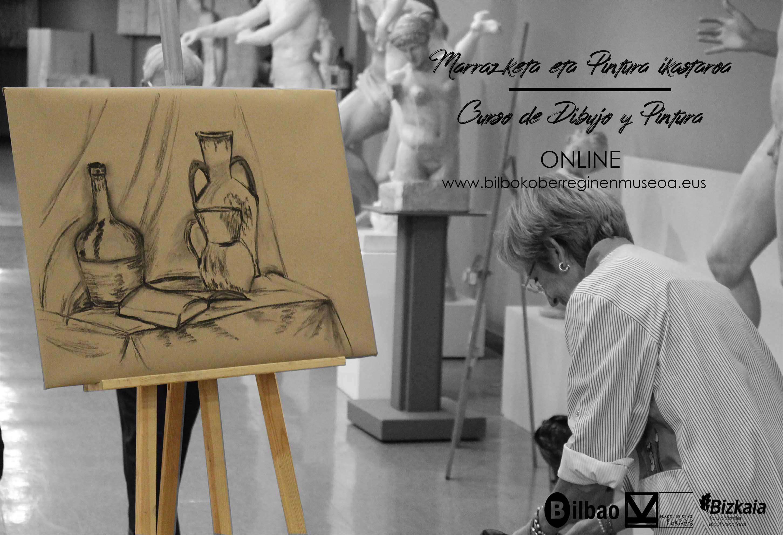 El Museo de Reproducciones de Bilbao ofrece clases gratuitas de Dibujo y Pintura online a partir del 1 de abril
