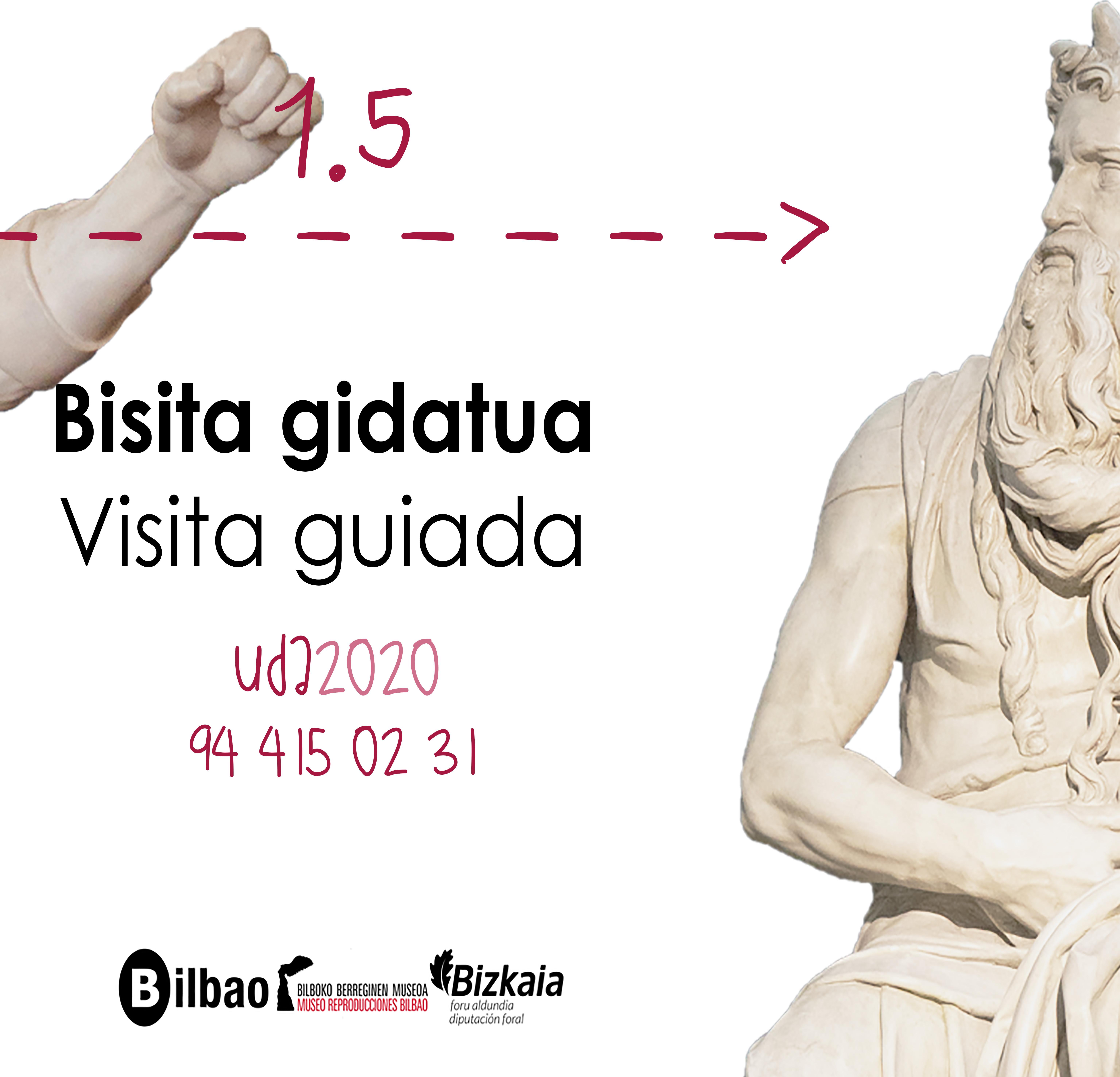 """El Museo Vasco y el Museo de Reproducciones de Bilbao se adaptan al Covid-19 con sus nuevas visitas guiadas de verano """"A metro y medio"""""""
