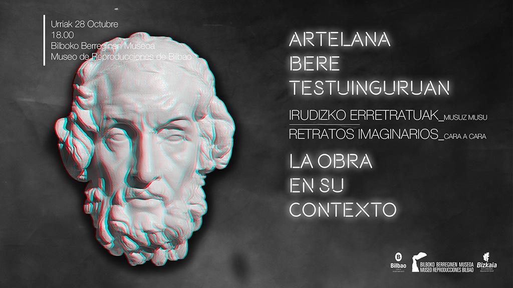"""La Obra en su contexto del Museo de Reproducciones llega en octubre con la conferencia """"Retratos imaginarios"""" (""""Irudizko erretratuak"""")"""