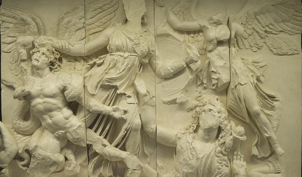 """El Altar de Zeus de Pérgamo será el protagonista, el jueves 26, de la conferencia del ciclo de """"La obra en su contexto"""" del Museo de Reproducciones Artísticas de Bilbao"""