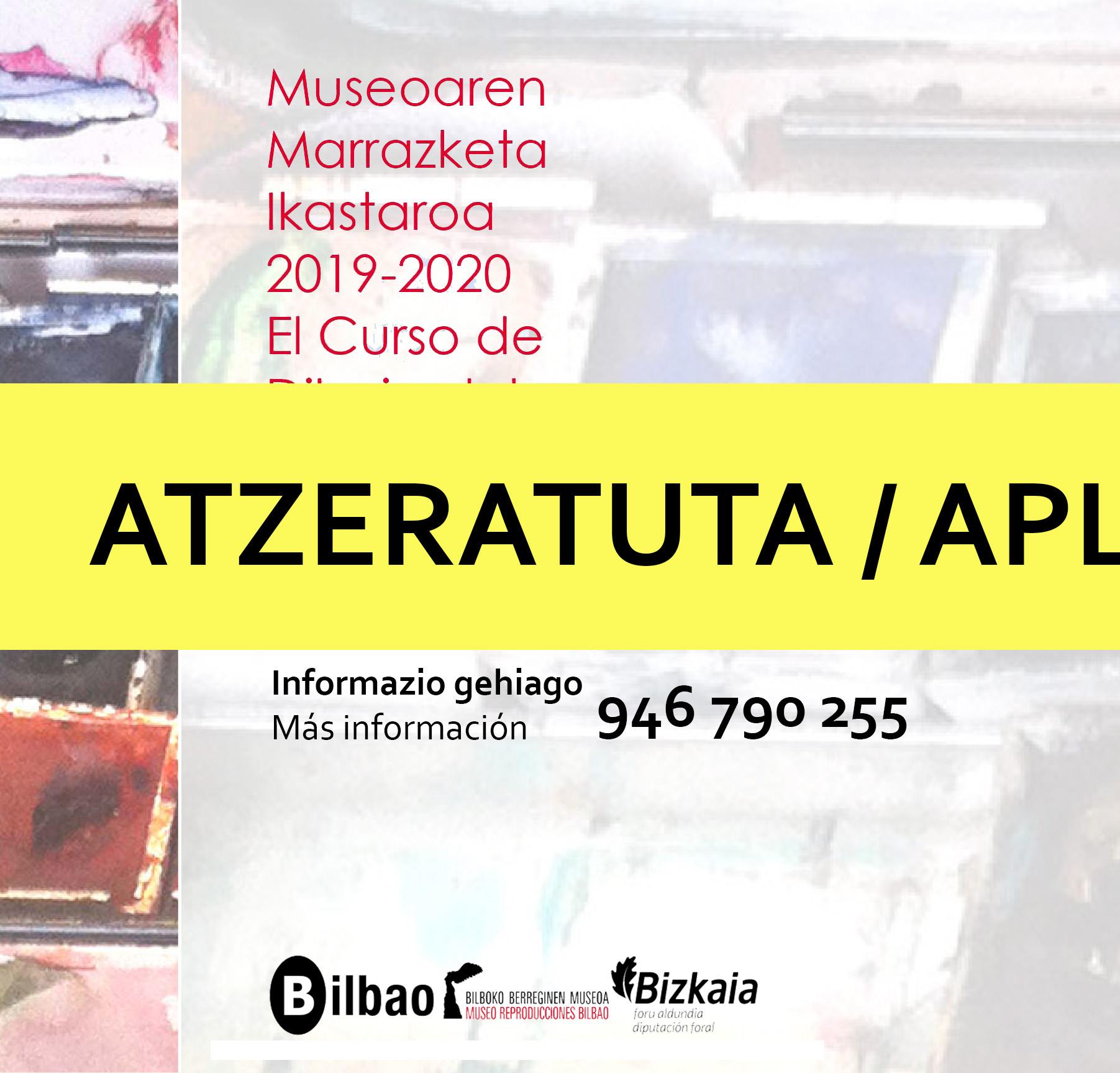 AVISO: APLAZADO El Museo de Reproducciones Artísticas abre el plazo de renovación y nuevas matrículas para sus cursos de dibujo y pintura